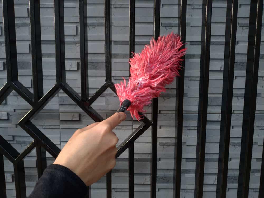 ทำความสะอาด ประตูรั้ว